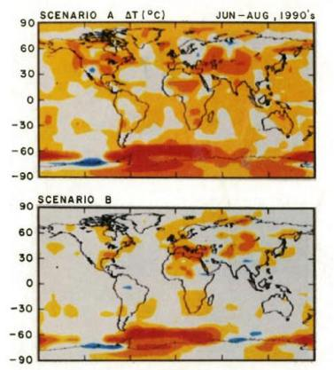 Equal Area Projections | Climate Audit