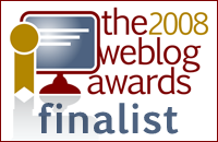 The 2008 Weblog Awards Finalist