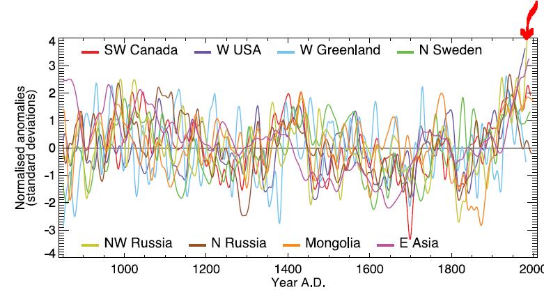 Yamal FOI Sheds New Light on Flawed Data | Climate Audit