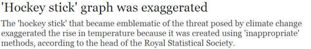 oxburgh daily telegraph headline