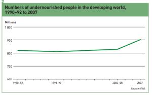 fao 2008 undernourished