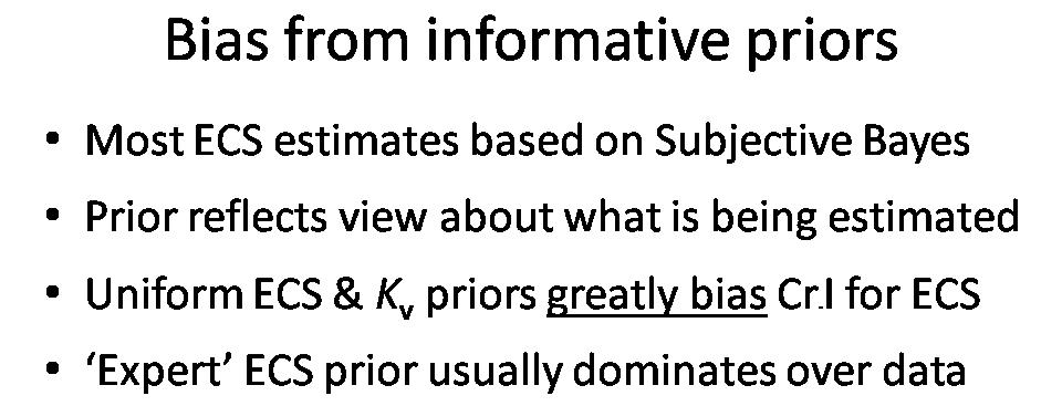 Pitfalls in climate sensitivity estimation: Part 2 | Climate